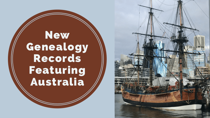New & Updated Genealogy Records Online Featuring Australia and China
