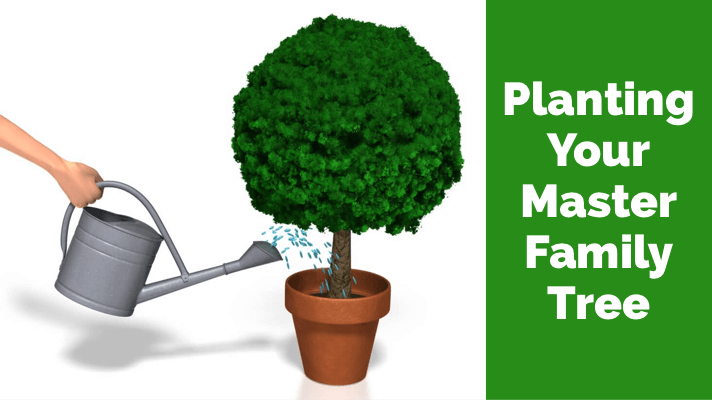 planting your master family tree