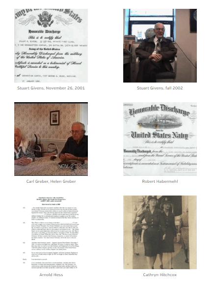 WWII Ohio oral histories