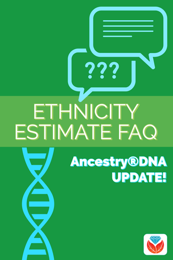 ancestry dna ethnicity FAQ