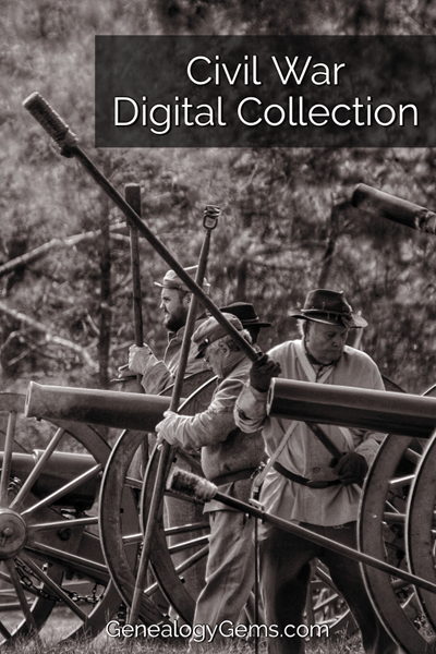 Civil War Digital Record Collection for Genealogy