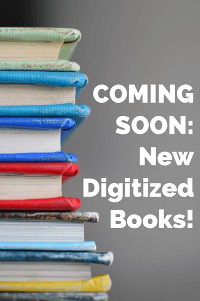 new digitized books
