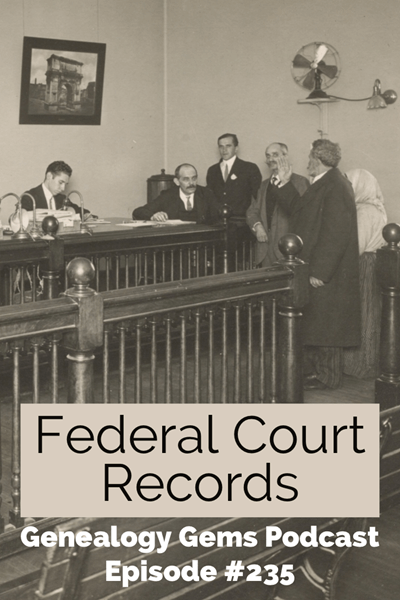 federal court records for genealogy