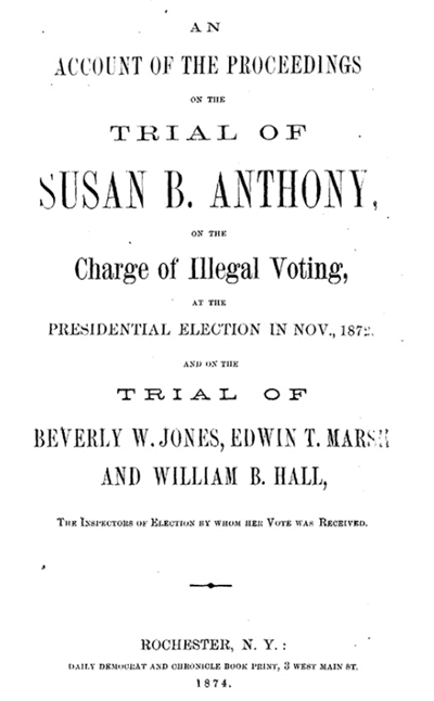 Library of Congress Women's Suffrage digital collection