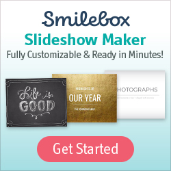 Click to start creating videos with Smilebox for free