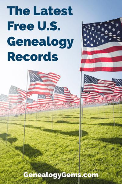 free US genealogy records