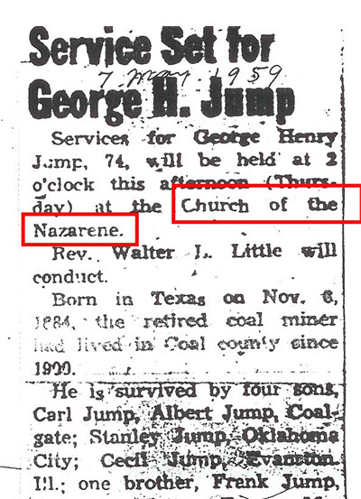 Church Clues in other genealogical records