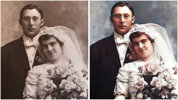 myheritage photo colorization