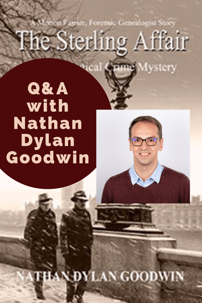 Genealogy Gems The Sterling Affair by Nathan Dylan Goodwin. Click image to order your copy.