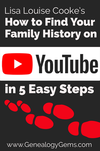 5 Easy steps to find your family history on YouTube