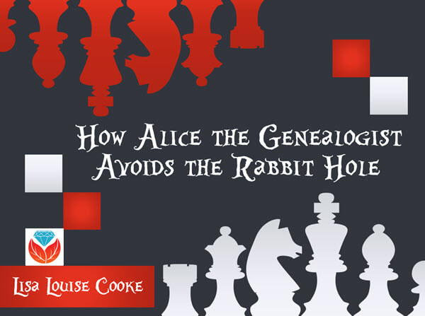 How Alice the Genealogist avoids falling down the online rabbit hole