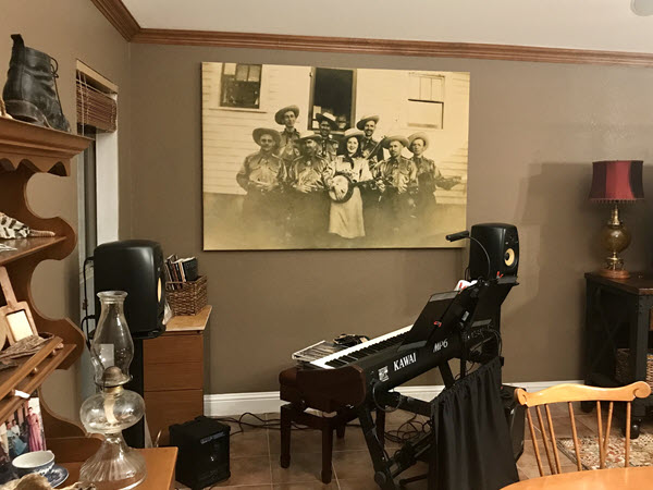 Completed project: family history art