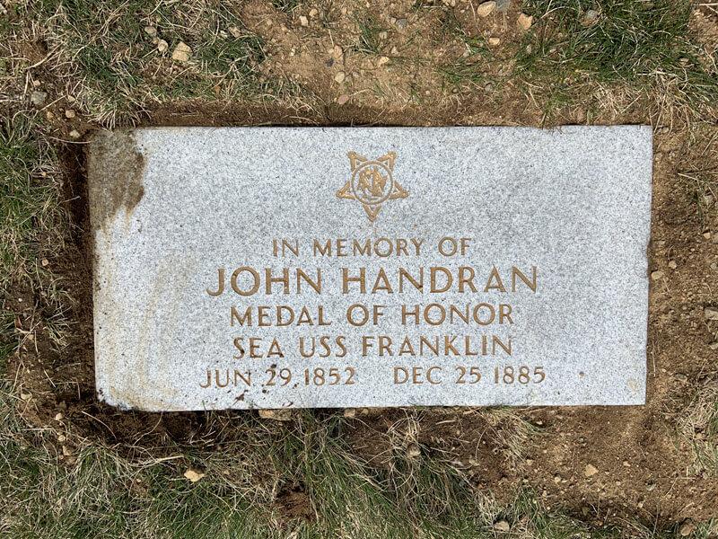john handran plaque