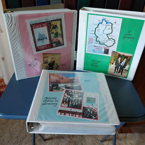 genealogy notebooks and binders
