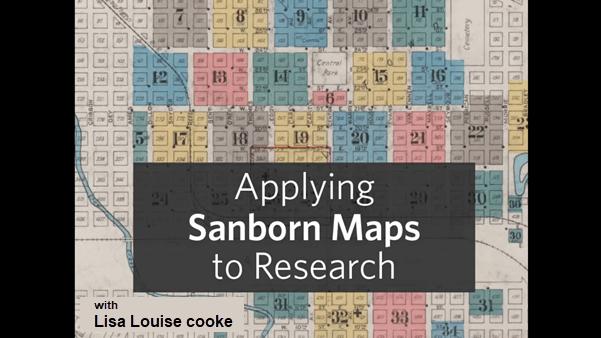 applying sanborn fire maps