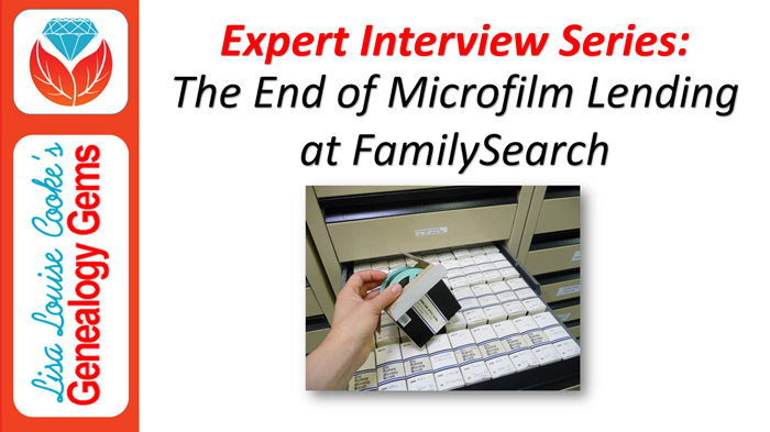 Special Episode: The End of FamilySearch Microfilm Lending Program