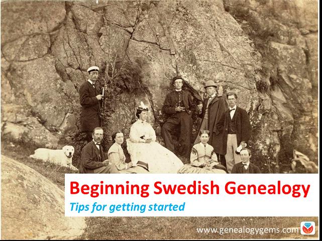 Beginning Swedish Genealogy: Tips from Legacy Tree Genealogists