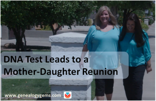 Adoptee DNA Test Leads to Emotional Mother-Daughter Reunion