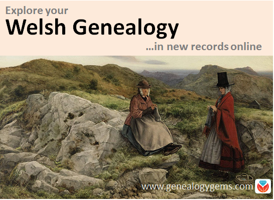 Welsh Genealogy and More: New Genealogy Records Online