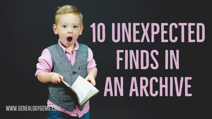 Found in an Archive: 10 Unexpected Discoveries