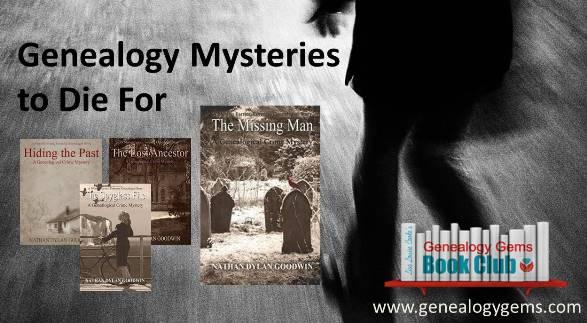 Genealogy Mystery Series to Die For: Genealogy Gems Book Club