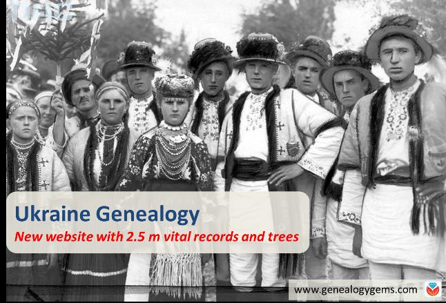NEW Ukraine Genealogy Website Tops List of New Genealogy Records Online