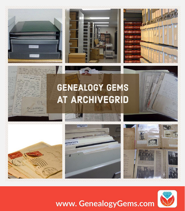 How to Find Original Manuscripts with ArchiveGrid