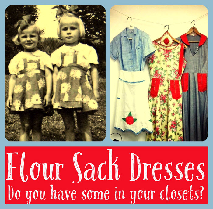Flour Sack Dresses: Thrifty Fashions from the Great Depression