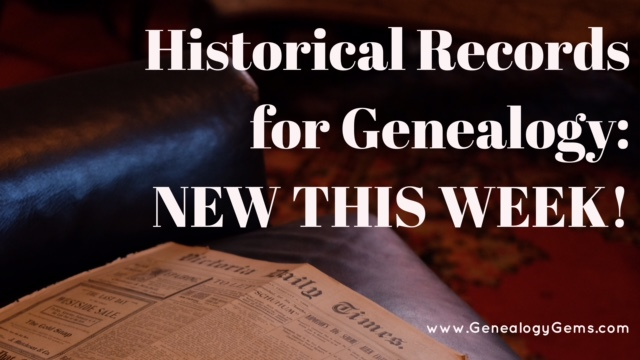 Brand New Portuguese Historical Records Online, Free Webinars and More!